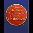 Webster's Third New International Dictionary Unabridged