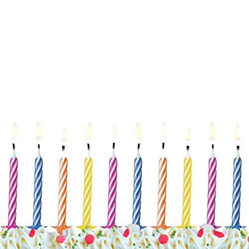 40 Kerzen bunte Geburtstagskerzen Tortenkerze Kuchenkerze Party Geburtstagsfeier unbekannt