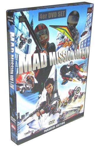 Mad Mission - Box-Set Teil 1-4 [MP] [4 DVDs] [Import allemand]