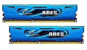 G.Skill F3-1866C9D-8GAB - Memoria RAM (Intel XMP Ready), Azul