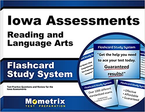Iowa Assessments Reading and Language Arts Flashcard Study System ...