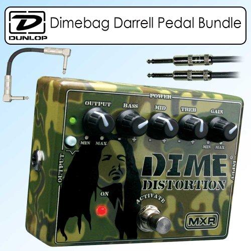 Dunlop DD11 Signature Series MXR Dimebag Darrell Distortion Pedal Bundle