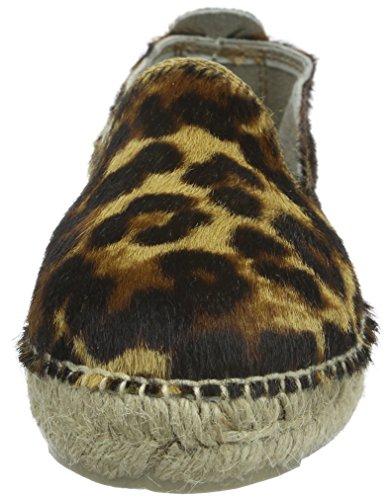 Leopard K Pony Femme MANEBI Accra Espadrilles 0 1 Noir 7ESYEXInq