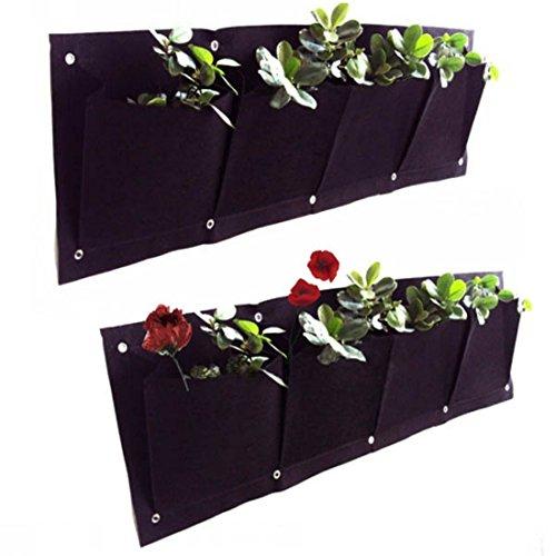 Kisstaker Pockets Planter Outdoor Growing