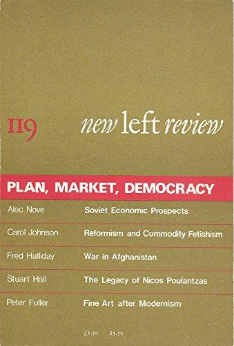 New Left Review No. 119, Plan, Market, - London Stuarts Review