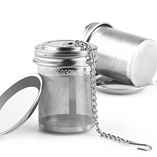 Find Cheap 2 Pack Tea Infuser by House Again, Extra Fine Mesh Tea Ball Threaded Connection 18/8 Stai...
