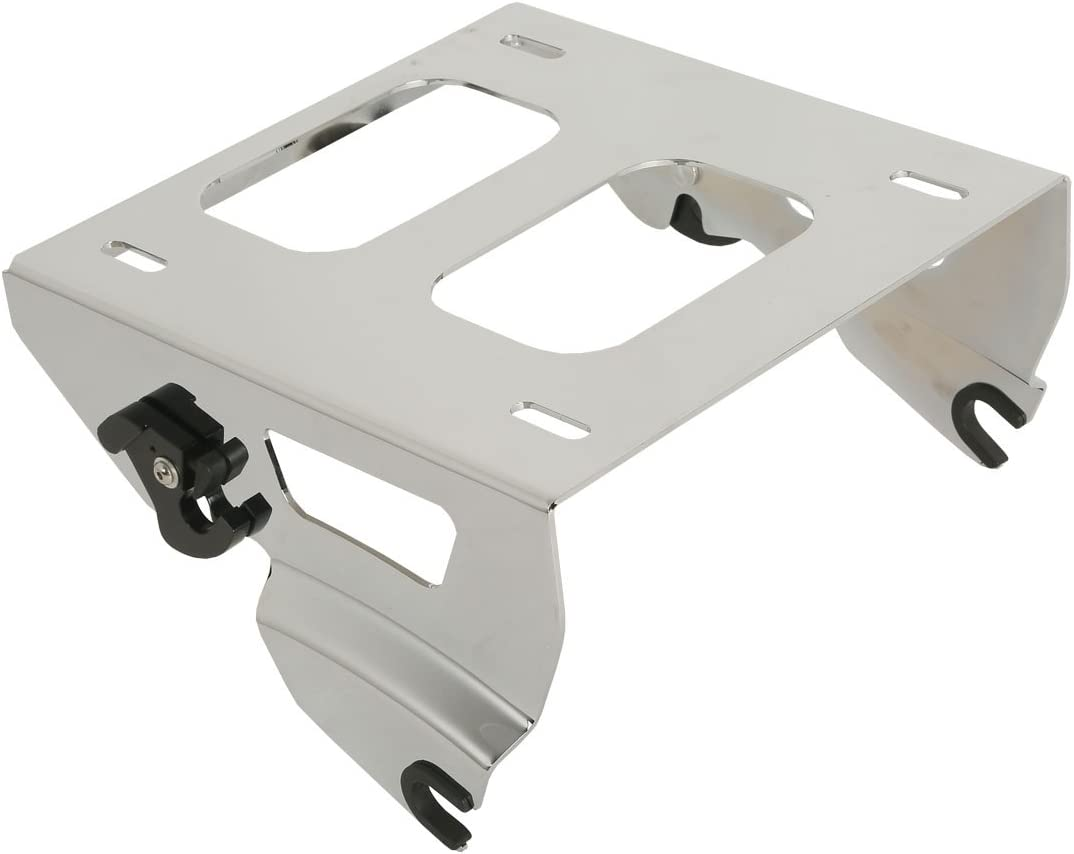 SLMOTO Solo Luggage Rack Mount Fit for Harley Tour Pak Road Glide Special FLTR 2014-2018