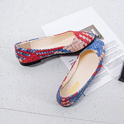Colors Women Female Casual Shoes Shoes Formal Shoes Flat Spring Blue Girl Comfortable Running Buy Shoes Shoes Shoes Mixed HEHEM Shoes Women Pretty Bass qYzEz