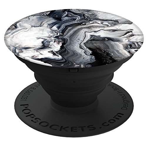 Price comparison product image PopSockets: Collapsible Grip & Stand for Phones and Tablets - Ghost Marble