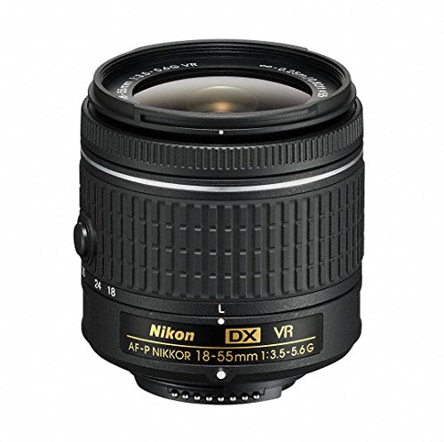 Nikon 18-55mm f/3.5-5.6G VR AF-P DX Zoom-Nikkor Lens - (Renewed) (Best Wide Lens For Nikon Dx)