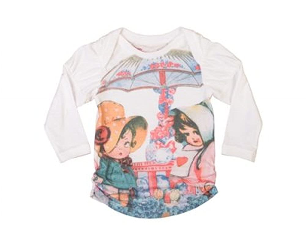 Little Wings Baby Girls Cute Puff Sleeve Tee ~ Size 12 Months