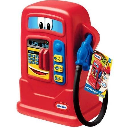 - Little Tikes Battery Powered Cozy Gas Pumper