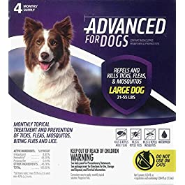 Para Defense Advanced 21-55 lb Dog Pet Flea Control Supply, Large