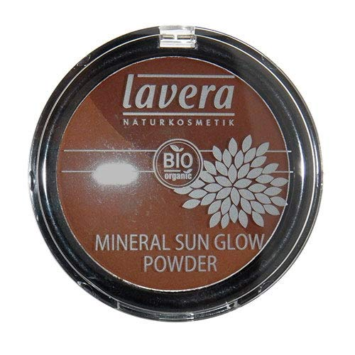 (Lavera Mineral Sun Glow Powder Duo, Soft Sunny Glow, Light-Reflecting Bronzing Powder, Natural, Organic Skin Care, Vegan (Sunset Kiss #02) 9g/0.3oz)