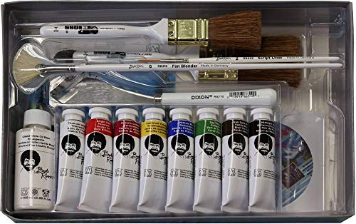 - Bob Ross 16 Piece Master Paint Set
