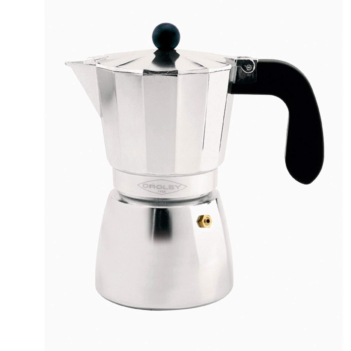 Oroley - Cafetera Italiana Alu de Aluminio, 12 Tazas: Amazon.es: Hogar