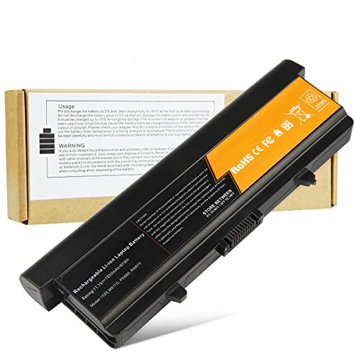 Fancy Buying® New Extended Replacement Laptop Battery for Dell Inspiron 1526 1525 1545 1546 - Li-ion, 11.1V, 7800mAh, 87wHr, 9 cells - 1 Year Warranty ()