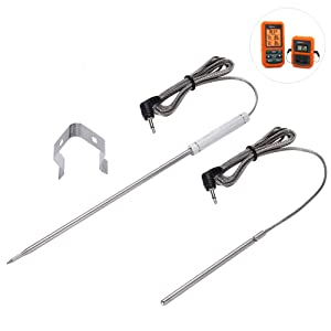 CLORY Replacement Grill Meat BBQ Probe Replacement for Thermopro Thermometer Probe of Cooking/Ambient/Oven Probe TP20 TP-08S and TP17 TP16 TP11 TP09 TP10 TP-07 TP06S TP04 Probe