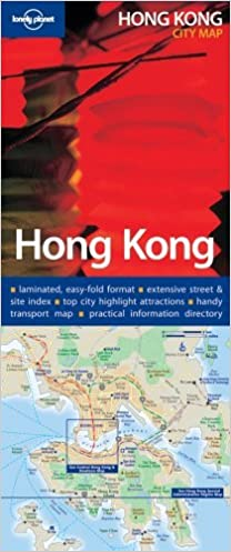 Lonely Planet Hong Kong City Map: 9781740596374: Amazon com