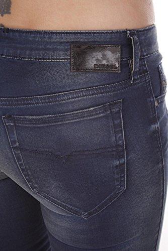 Skinzee Bleu Low Femme 0667D Diesel Jeans 7wZgqZd