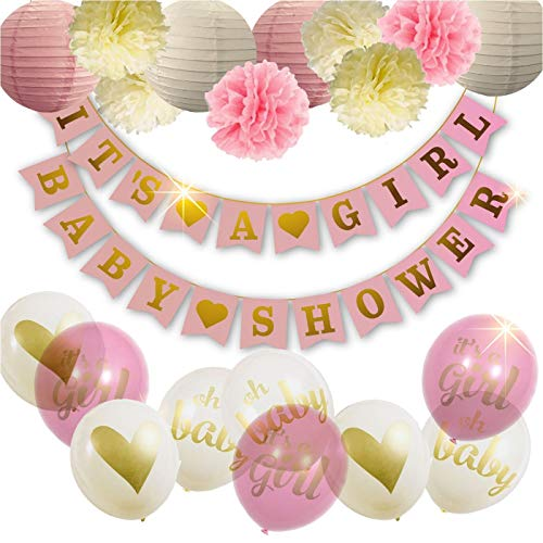 Baby Shower Decorations For Girl - Girl Baby