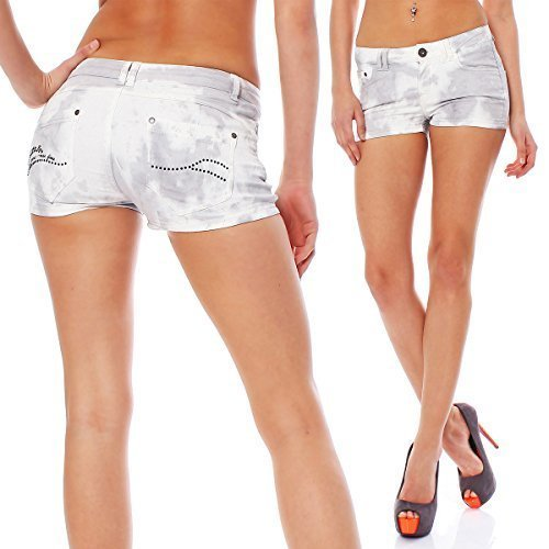 Short Bay Scorpion batik Batik da Snopy Pants Hot Twill donna wbm2925 Uq7qwX