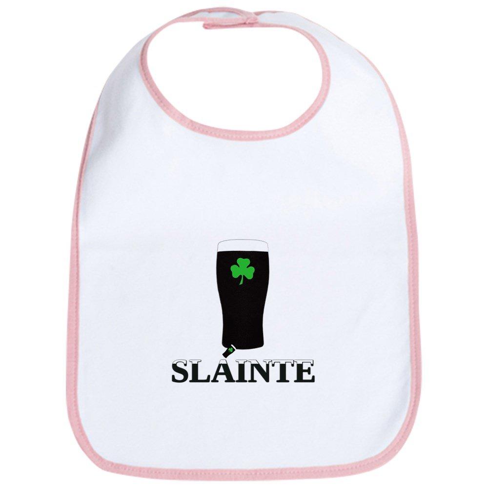 CafePress - Slainte Irish Stout Bib - Cute Cloth Baby Bib, Toddler Bib