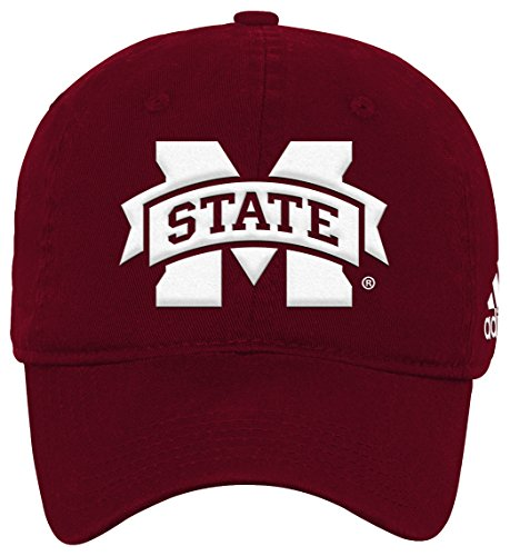 Outerstuff NCAA Mississippi State Bulldogs Youth Boys Slouch Adjustable Hat, 1-Size, Classic Maroon