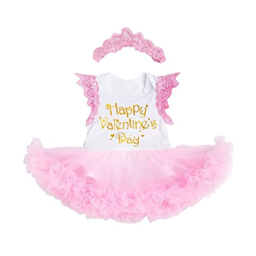 Amazon Com Odeer Toddler Girls Valentine S Day Outfits Bubble