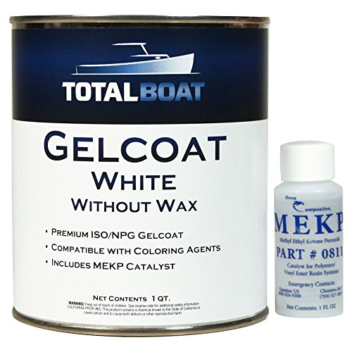 TotalBoat Gelcoat (White, Quart No Wax) ()