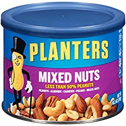 Planters Mixed Nuts, 10.3 Ounce Canister