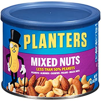 Planters Mixed Nuts, 10.3 Ounce Canister 0