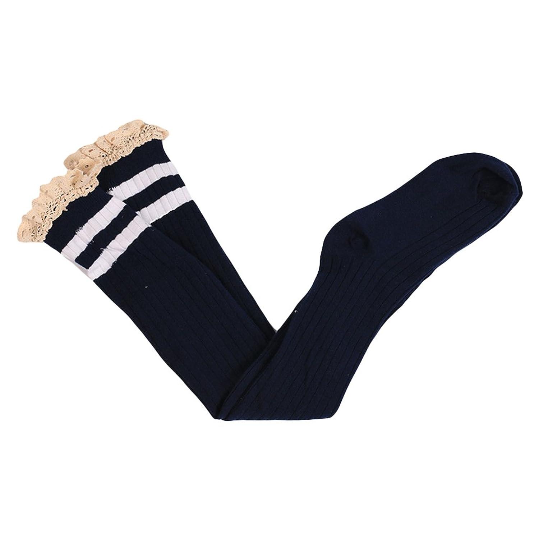 92b4625bf82 Finance Plan Women s Girl s Over Knee Thigh High Elastic Long Socks Fashion  Lace Stockings