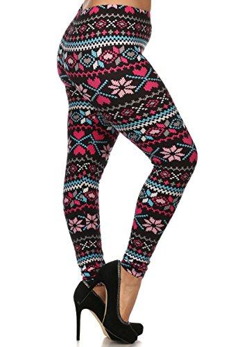 Cheap Leggings Depot Ultra Soft Premium Quality Plus Size Seasonal Printed Leggings hot sale