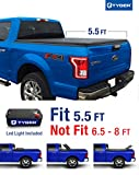 Tyger Auto TG-BC3F1041 TRI-FOLD Truck Bed Tonneau Cover 2015-2018 Ford F-150 | Styleside 5.5' Bed