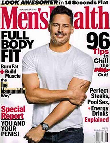 Men's Health Magazine (June, 2019) Joe Manganiello Cover