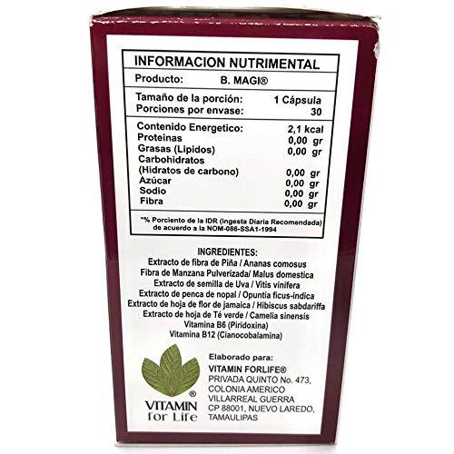 Amazon.com: B Magi 30 Capsulas 500mg Quemador de Grasa/Fat Burner: Health & Personal Care