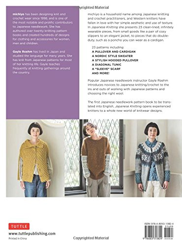 453d097616db6 Amazon.com  Japanese Knitting  Patterns for Sweaters