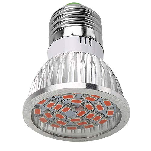 E27/E14/GU10 Bulb, 28W 280-336LM Plant Grow Light, 28 LED Veg Flower Full Spectrum Lighting Lamp (A) -
