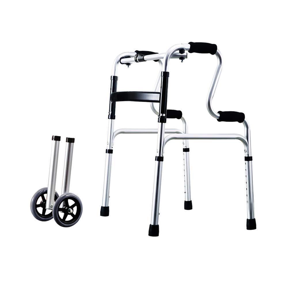日本人気超絶の 歩行者、下肢訓練四足歩行者用椅子 :、アルミニウム合金古い歩行補助歩行器、軽量折りたたみアンチスキッド アシストウォーキング (色 : C) C (色 B07GVB165V, ユニフォーム工房 フレンド:b9f667d6 --- a0267596.xsph.ru