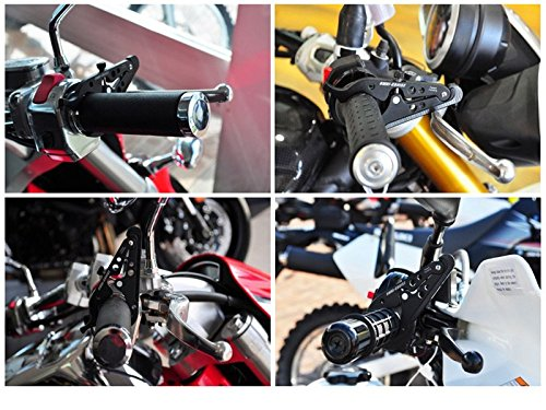 Fits 22-28mm handle bars Easy DIY instal Motorcycle Motorbike Cruise Control Throttle Aid Universal Fitment