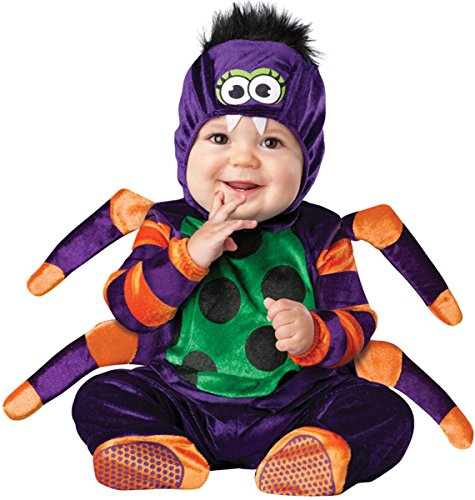 Itsy Bitsy Spider Baby Infant Costume - Infant Small]()