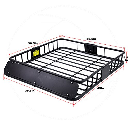 LT Sport SN#100000001182-247 For Toyota Top Roof Cargo Luggage Carrier Basket w/Wind Fairing