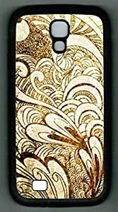 For Case HTC One M7 Cover PC Supple Shell Case Tropics Black Skin by Sallylotus