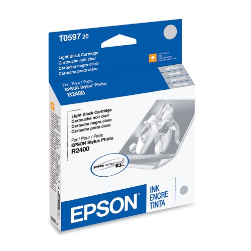 EPSON T059720 Light Black Ink Cartridge - Stylus Photo R2400