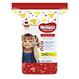 Huggies Simply Clean Fragrance Free Baby Wipes Refill, 240 Count