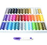 A Box of 39 Spools 250 yards Rainbow Sewing 603 Thread Quilting Threads Sets