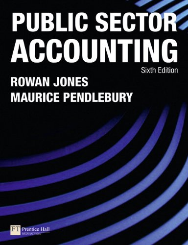 Public Sector Accounting (6th Edition)