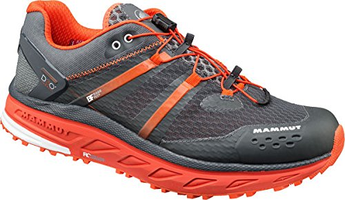 Mammut Zapatilla mtr 201-ii max low hombre graphite/dark orange 8 graphite/dorange