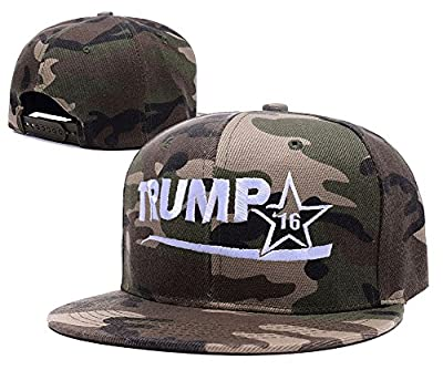 LIFA The 2016 Presidential Campaign Of Donald Trump Camo Cap Embroidery Camo Hat